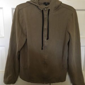 james perce zip up jacket